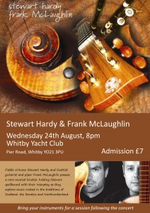 Stewart Hardy & Frank McLaughlin in Whitby @ Whitby Yacht Club   Whitby   England   United Kingdom