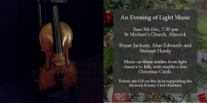 An Evening of Light Music @ St Michael's Church
