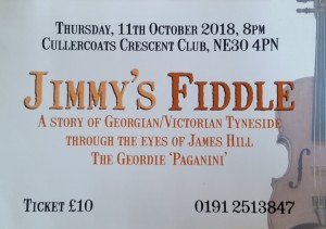 Jimmy's Fiddle / Cullercoats @ Cullercoats Crescent Club