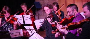 Woolsington Strings @ The Holy Biscuit