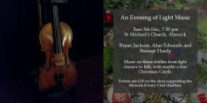An Evening of Light Music @ St Michael's Church