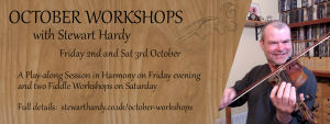 October Workshops: Fiddle Workshop 1 @ Online - on Zoom | Grantham | United Kingdom