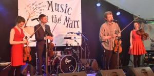 Bottle Bank Band in Alnwick @ Alnwick Music Festival