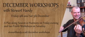 December Workshops: Fiddle Workshop 1 @ Online - on Zoom | Grantham | United Kingdom