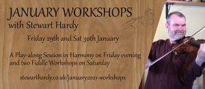 January 2021 Workshops: Fiddle Workshop 1 @ Online - on Zoom | Grantham | United Kingdom